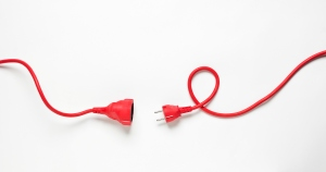 Red Power Cable